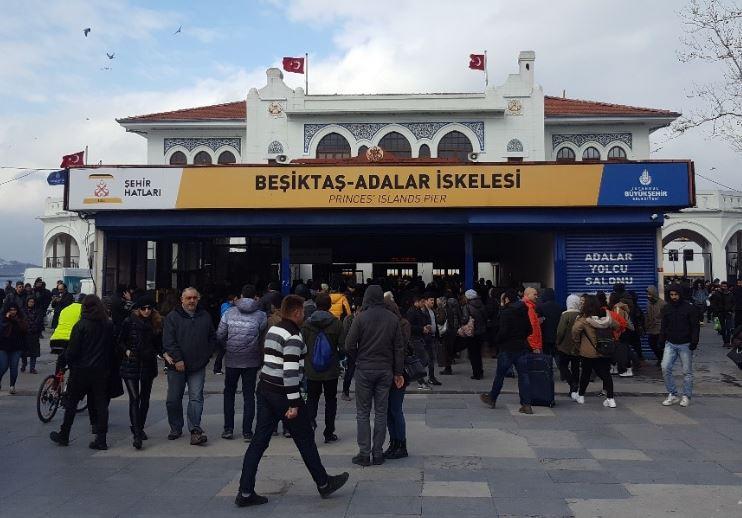 Kadikoy Besiktas-Adalar Pier