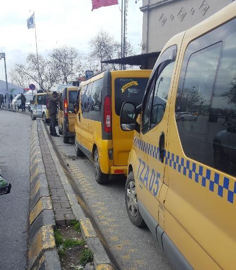 Kadikoy yellow minibus