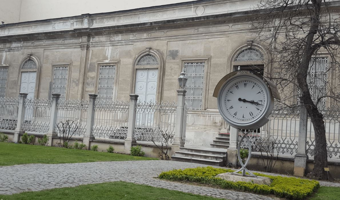 Dolmabahce Palace Clock Museum