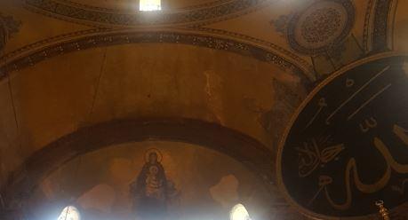 Virgin Mary holding Jesus Christ