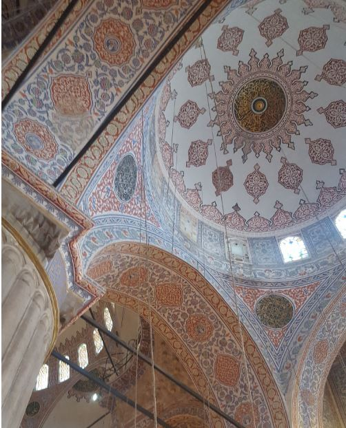 The Blue Mosque- Interior