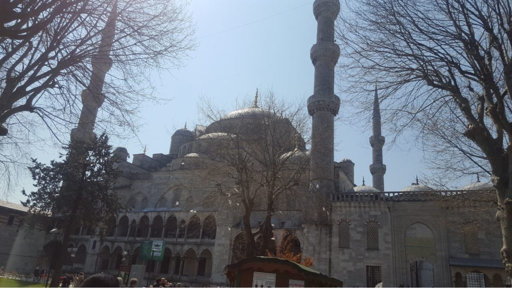 The Blue Mosque Istanbul- Exterior