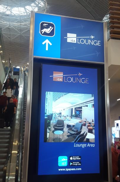 New Airport- IGA Lounge