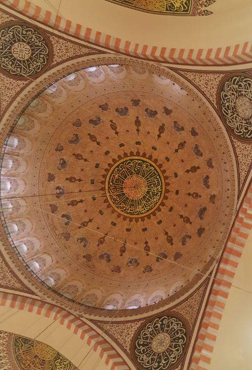 Dome of the mosque