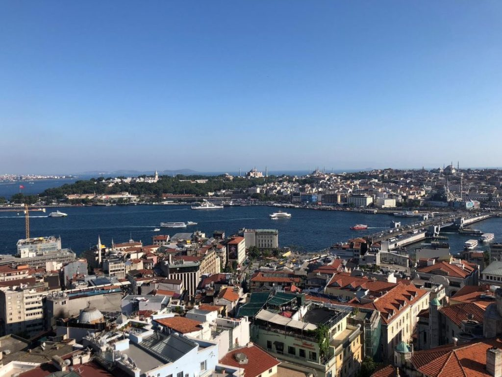 Galata Tower- view from the balcony
