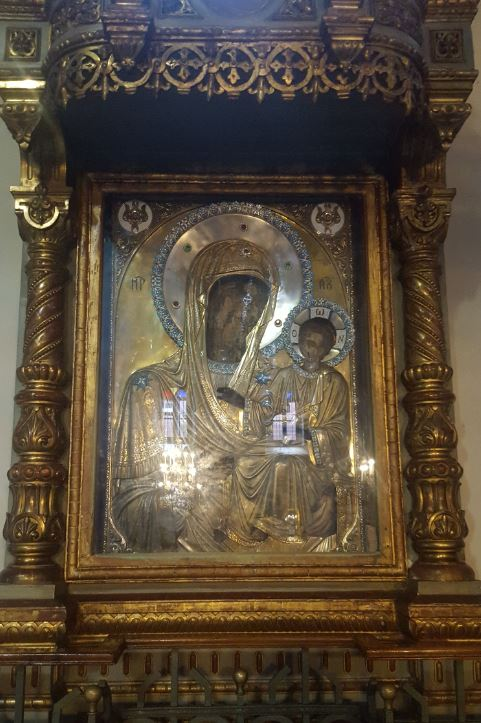 The icon, Panaghia Faneromeni in Orthodox Patriarchate