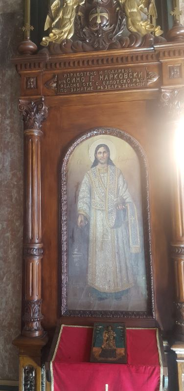 Iron Church- St. Stephen Icon