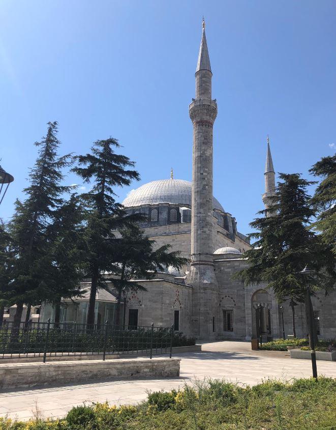 Yavuz Sultan Selim Mosque- Exterior