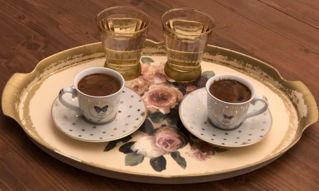 Karaca- Turkish coffee cups