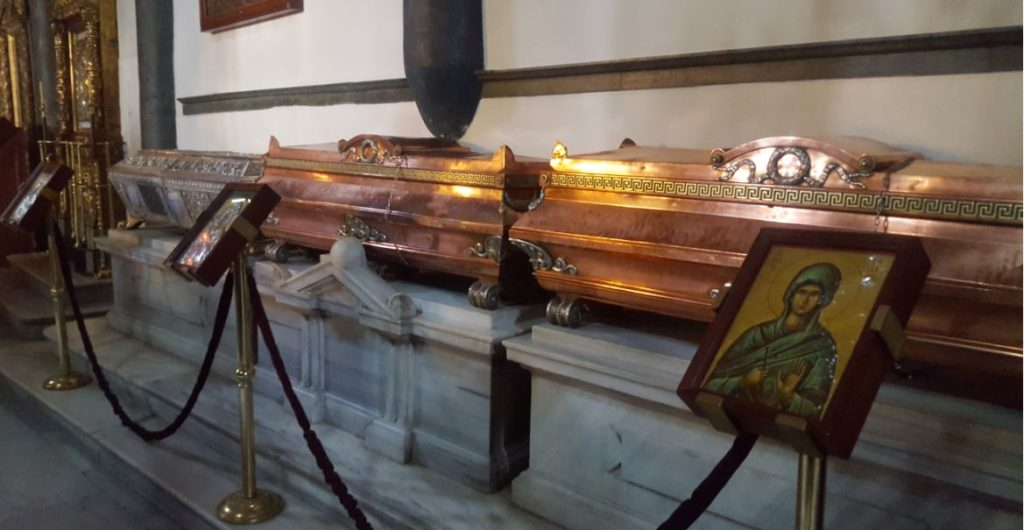 The Relics in Orthodox Patriarchate