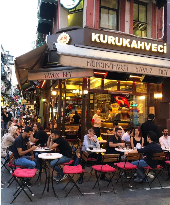 Kurukahveci Yavuz Bey, turkish coffee Kadikoy