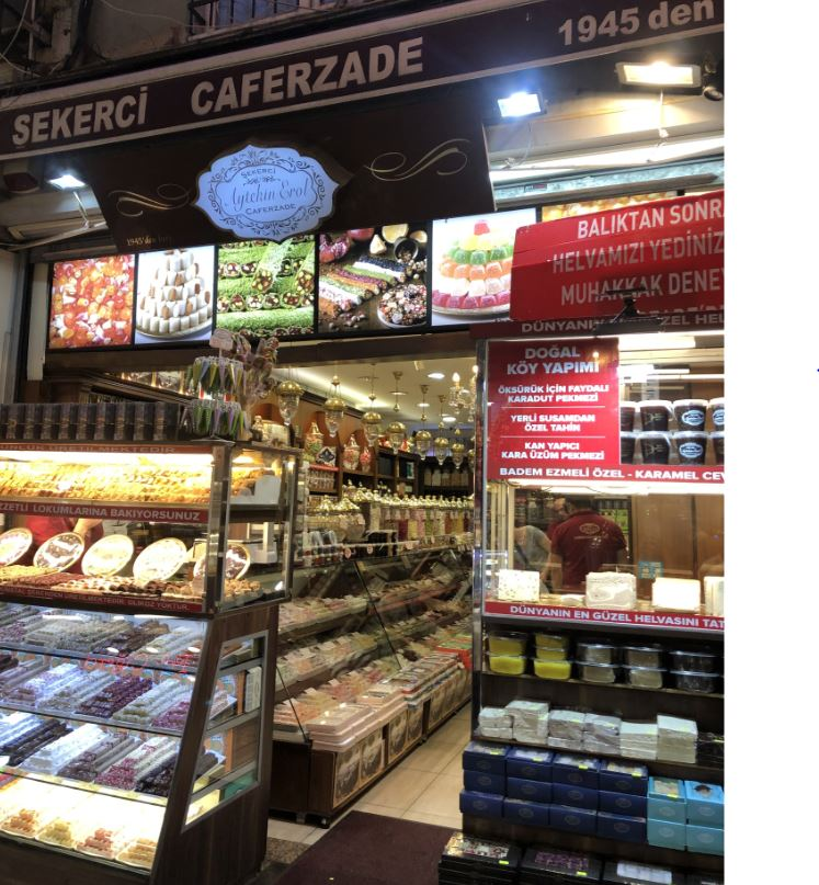Sekerci Caferzade- Turkish delights