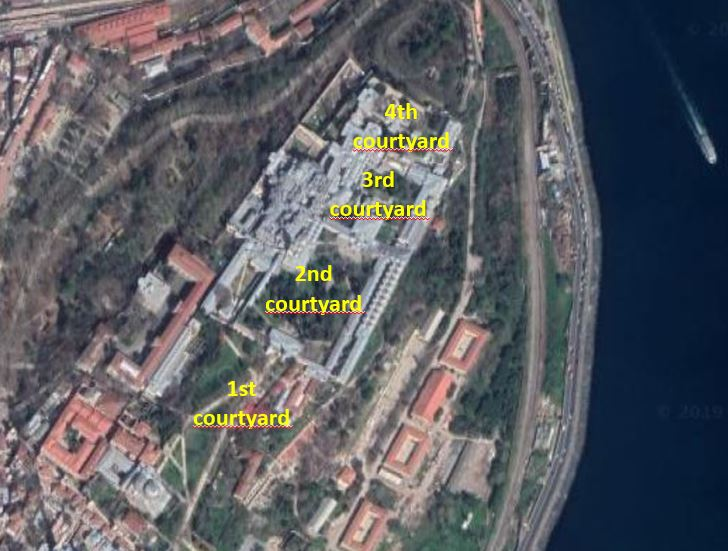 Topkapi Palace- Aerial view