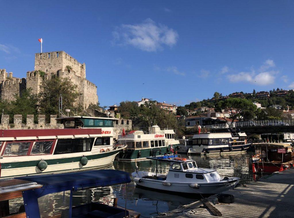 fortresses in Istanbul- Anadolu hisari