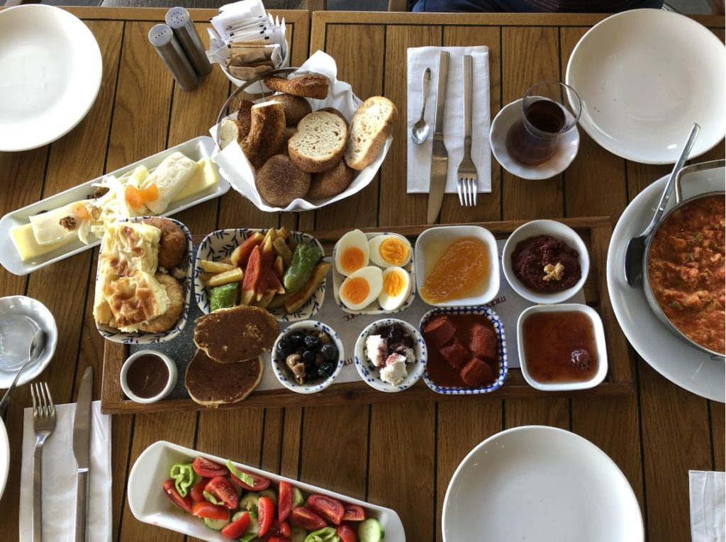 Turkish Breakfast @ Midpoint Bagdat Street