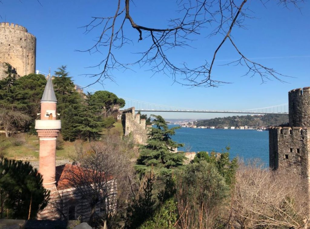 fortresses in Istanbul- Rumelian castle