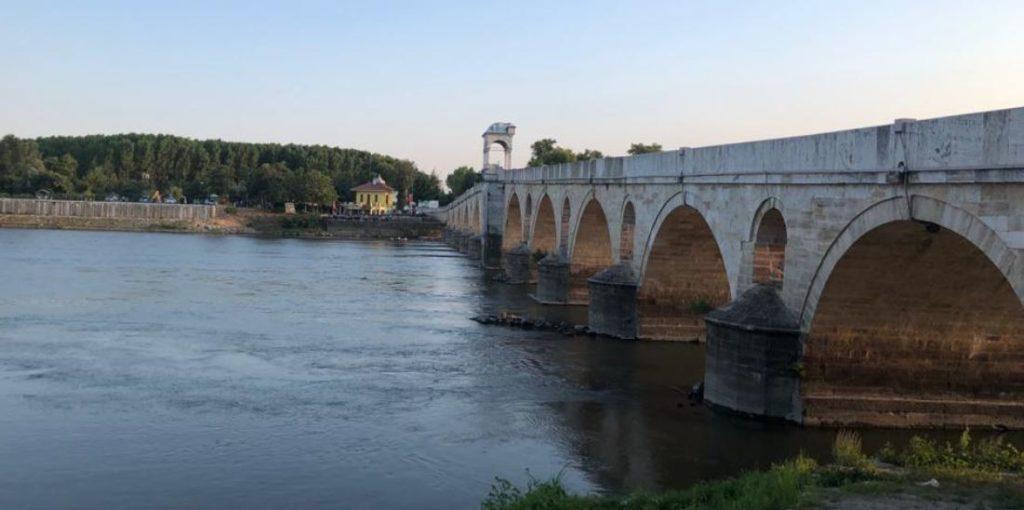 The bridge in Edirne