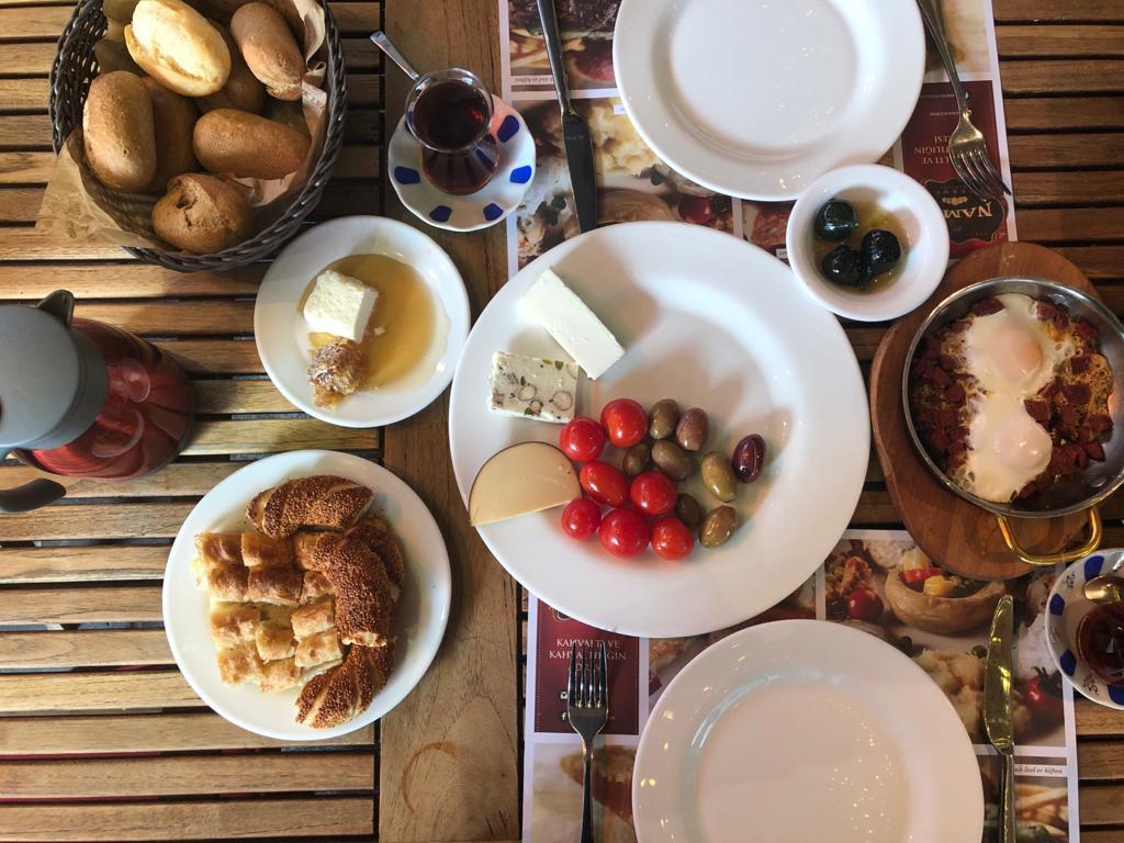 Turkish breakfast and Turkish tea